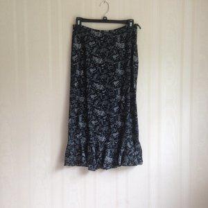 Christopher & Banks Italian Print Skirt